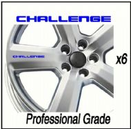 MITSUBISHI CHALLENGE CAR WHEEL DECALS